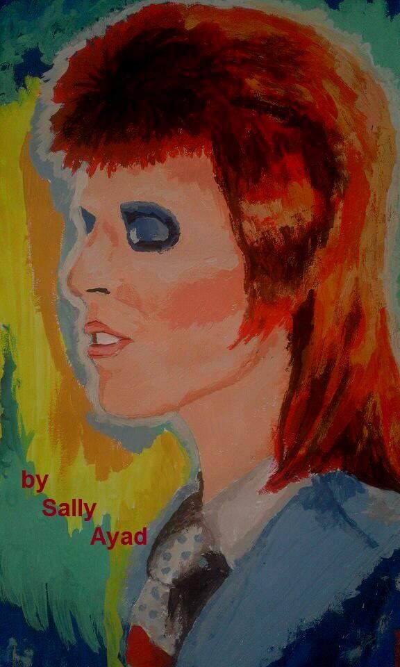 David Bowie by sally